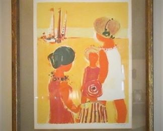 Original Lithograph by Frederic Menguy