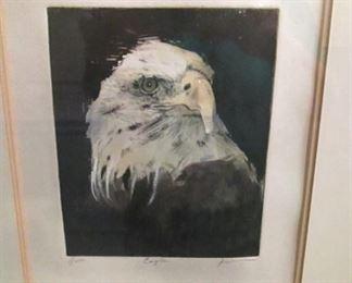 Original Eagle Print