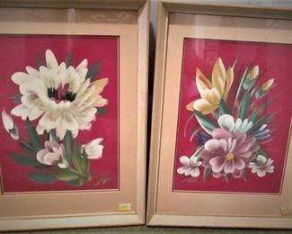 Handpainted Florals