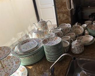 Full set of Minton China