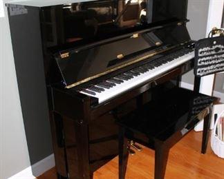 Kawai spinet piano w/ bench