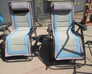 2-Patio Lounge Chairs