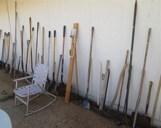 Large Assortment of Yard Tool