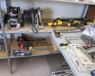 Larger Power Tools, see text for a listing!
