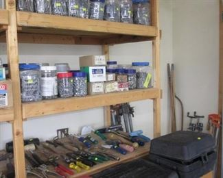 Tool & Hardware Boxes & Filled Jars