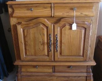 """Armoire-Style Chest, 40"""" X 18"""""""