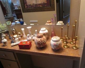 Vases, Candlesticks & Decorative Jars