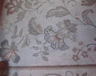 Large Area Rug Detail, 8 1/2'  X 10'