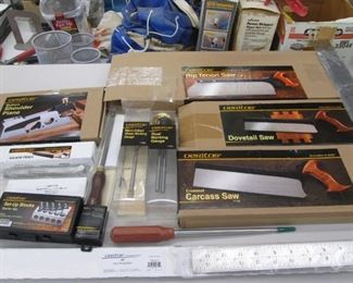Veritas Set of Tools, NIB.  Used for Dovetail Joints.  Selling as a Set!  Please see Staff Member to view!!!