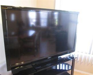 "60"" Sharp ""Aquos"" Flat Screen TV"