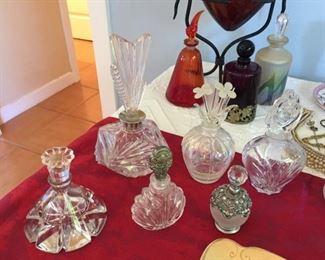Antique Perfume Bottle Collection