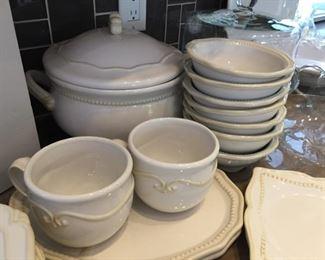 Princess House Pavillion Stoneware Dinnerware - Large Variety of pieces