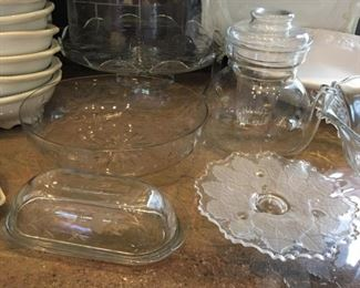 Princess House Glassware  - Large Variety of pieces