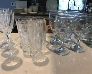 Unique Glassware Stems and Crystal