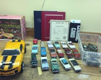 60's Classic Car Collection w/ Certificates