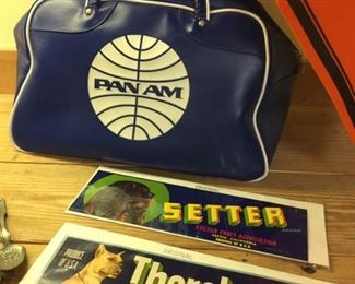 Vintage Pan Am bag in MINT condition