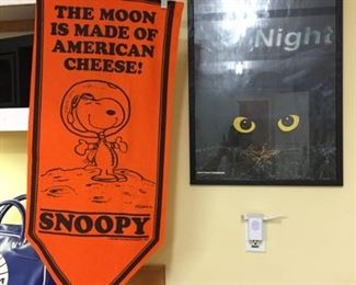 1969 Snoopy Banner
