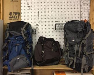 Brand new hiking backpacks