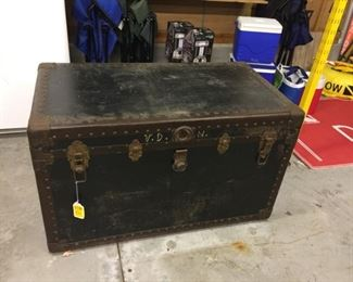 Antique trunk - LARGE!