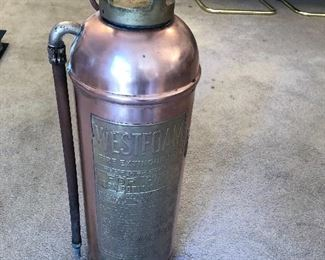 Mid century Fire Extinguisher