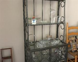 A million uses....baker's rack, wine rack, kitchen rack, mud room, bathroom, dining room......keep going.