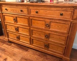 """Dresser 64"""" X x 16"""" D x 40 12"""" H Broyhill"""