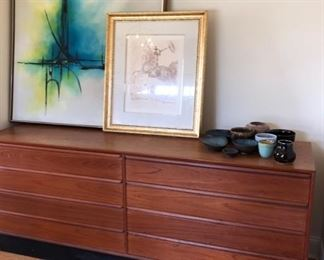Mid Century Danish Modern furniture & art & accessories