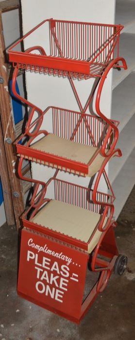 Store Display Rolling Rack