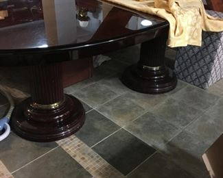 Italian  lacquered Dining Table
