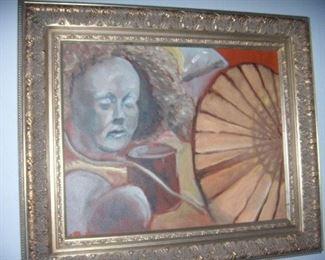 American artist, Oil on Canvas.