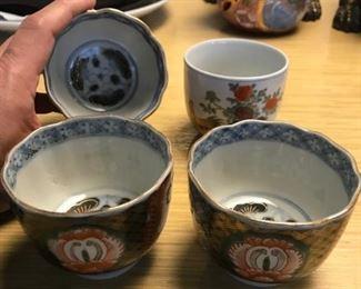 Imari Cups