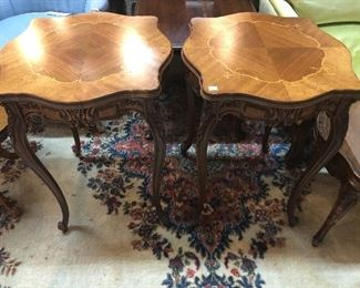 Pair of Vintage Wooden side tables