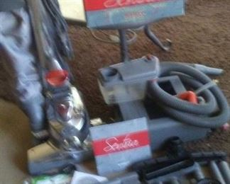 Like new Kirby vacuum all attachments including shampooer