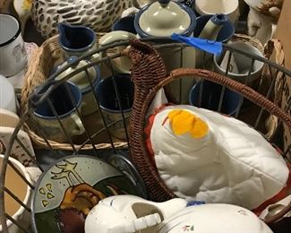 Ceramics, metal ware and other