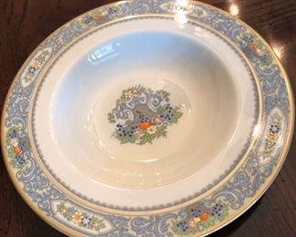 Set of Lenox Autumn china