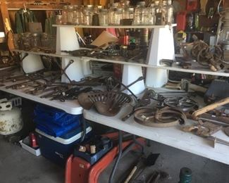 Large assortment of antique and vintage tools!