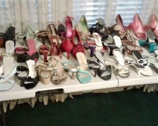 Large selection of women's shoes