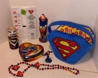 Superman themed items