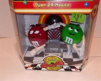 M& M candy dispencer