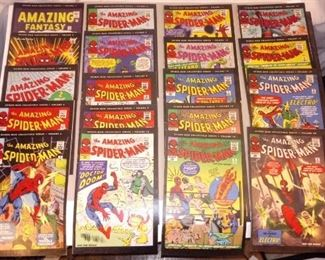 SPIDERMAN COMIC BOOKS