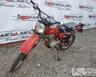 53:  1982 Honda 100S XL 1982 Honda 100S XL. Has keys. VIN: JH2HD050CK102071  Selling on Non-Op status. DMV fees: $36 and $70 doc fee Sold on Application for Duplicate Title. Year: 1982 Mileage: 1,183