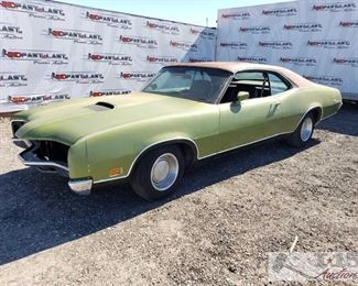 84: 1971 Mercury Cyclone, Running, New Parts! See Video! This 1971 Mercury Cyclone appears to have a new engine. Has new Edlebrock manifold, Holly carb, Electronic ignition, New exhaust, New front suspension, and all the trim is in the trunk. Vin Number: 1H16H514029
