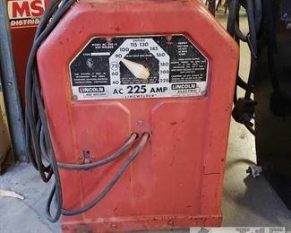 128:  225 amp ac lincoln welder Model number AC-225-S