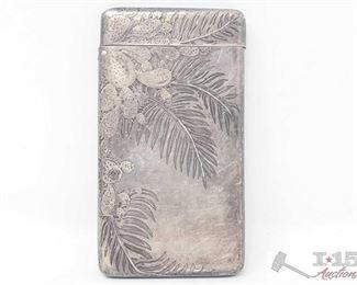 "353:  Vintage Tiffany & Co. Sterling Silver Card Holder weighs approx. 83.5g Vintage Tiffany & Co. Sterling Silver Card Holder weighs approx. 83.5g measures approx. 3.5""×2"""