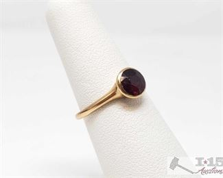 505:  14k Gold Ring, 1.8g 14k Gold Ring weighs approx 1.8g measures approx size 6