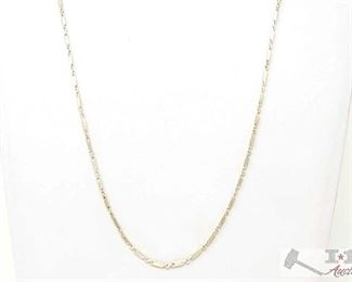 """507:  Necklace weighs approx 8g measures approx 11.5"""" Necklace weighs approx 8g measures approx 11.5"""""""