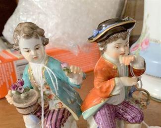 Meissen many figurines