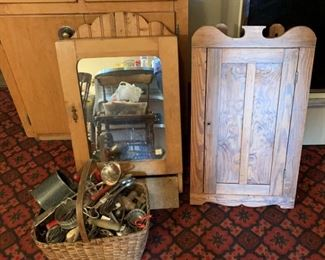 Loads of small cupboards all over house