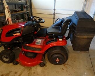 Craftsman double bag mower