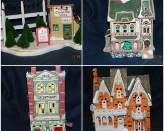 Department 56 Snow Village pieces